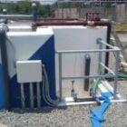 Instalación de planta de tratamiento de agua residual